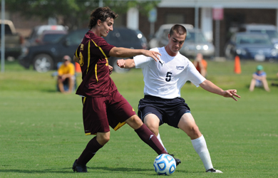 SU men's soccer ranked No. 21 in season's first NSCAA poll