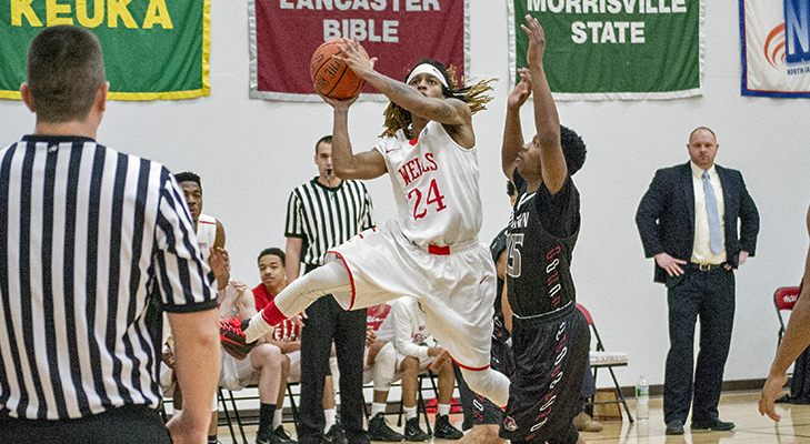 Men's Basketball Upended By Morrisville State, 90-75