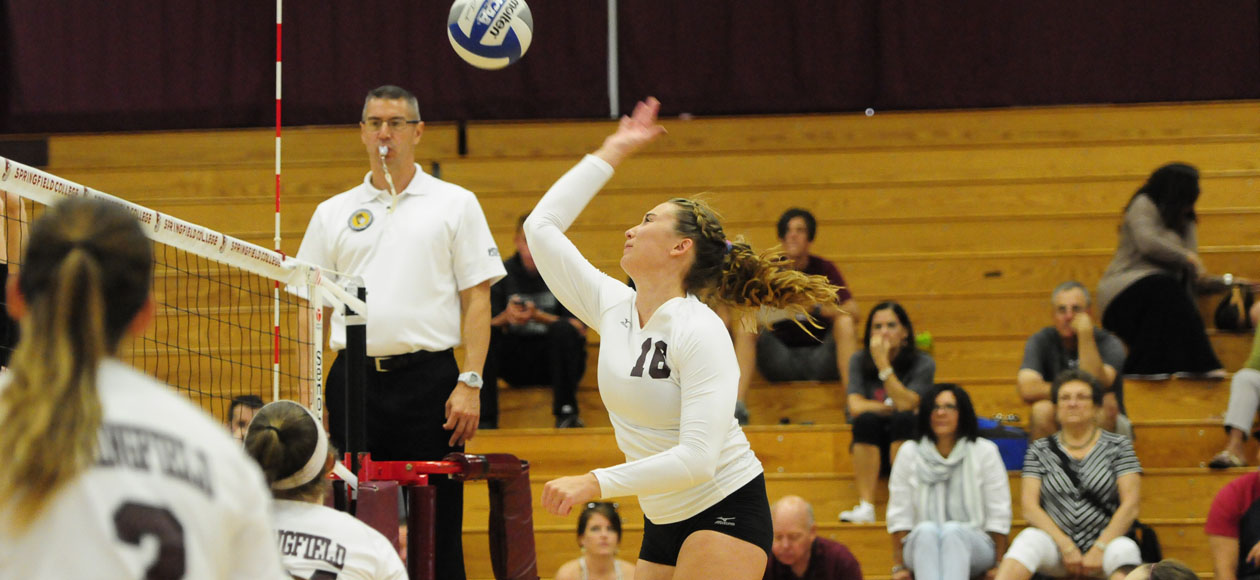 Women's Volleyball Picks Up Wins Over RIT and Gordon to Open Season