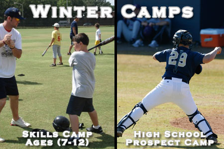Pair of baseball camps scheduled