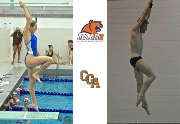 Anderson, Cantrell Named NEWMAC Divers of the Week