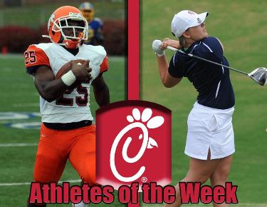 Baker, Hayes log Chick-Fil-A Athlete of the Week Accolades