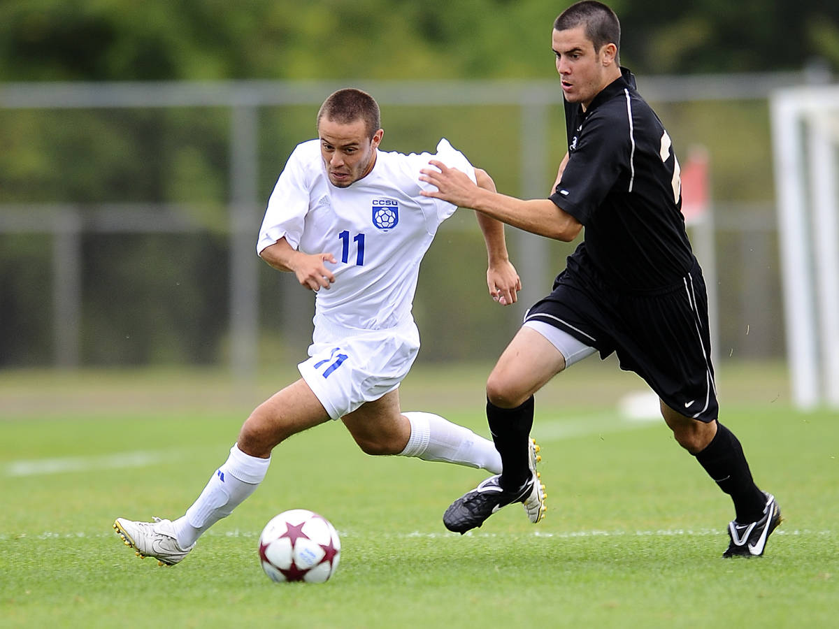 Ortiz Scores In Men's Soccer Loss at Fairleigh Dickinson