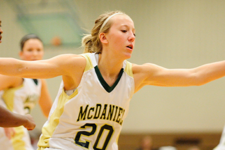 No. 600 puts McDaniel in first place