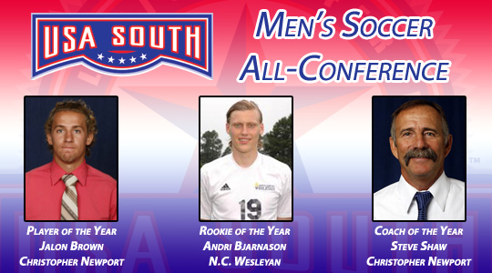 USA South 2012 Men's Soccer Awards Announced
