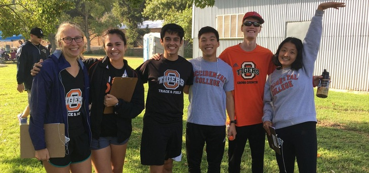 Oxy XC Volunteers at Annual Muscular Dystrophy Association 5k