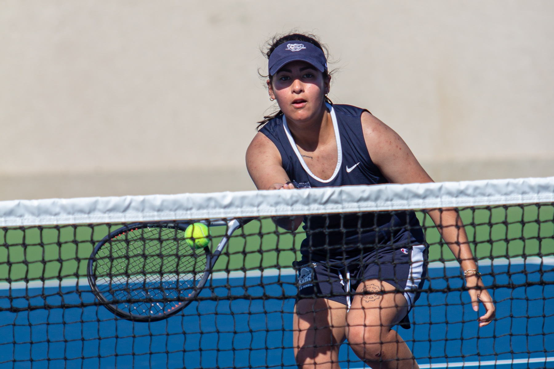 Women's Tennis Drop First Skyline Matchup to Yeshiva