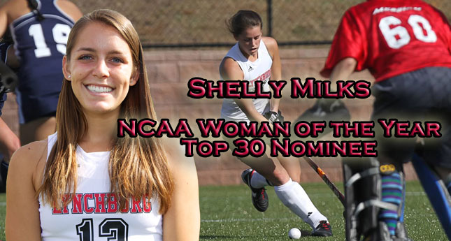 Shelly Milks Recognized as NCAA Top 30 Woman of the Year Nominees are Announced