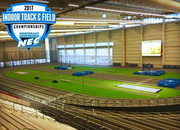 Women's Indoor Track Heads To Staten Island For NEC Championships