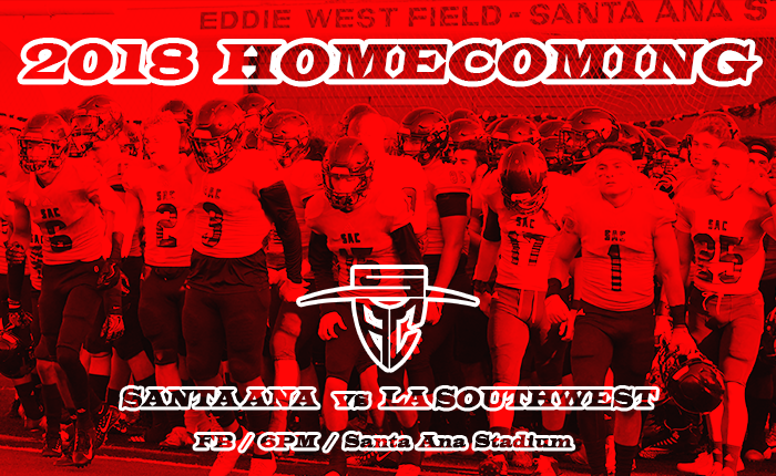 Santa Ana to Host LA Southwest in 2018 Homecoming Game