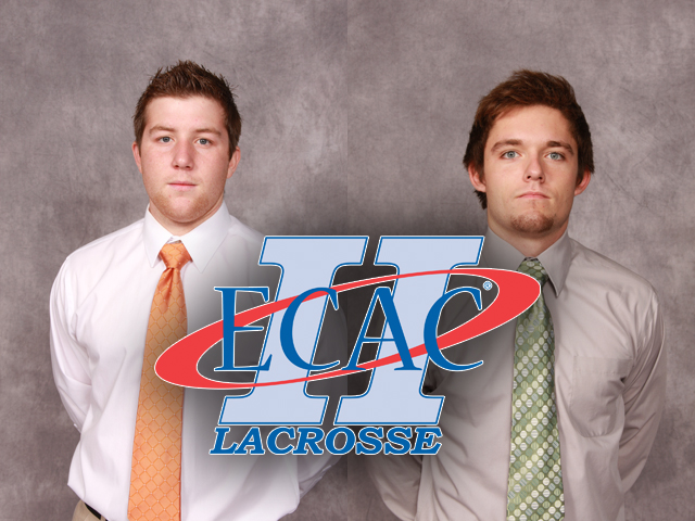 Trevor Tarte and Ryan Jurek received ECAC Weekly Honors following the Storm's sweep of Mars Hill and Lees-McRae