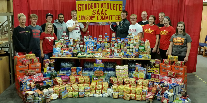 Student-Athletes set new mark in Rally to Stop Hunger