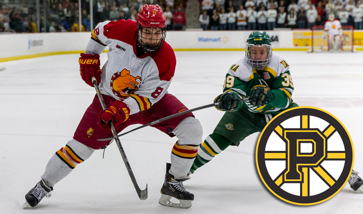 Ferris State Skater Cory Kane Makes Professional Hockey Debut