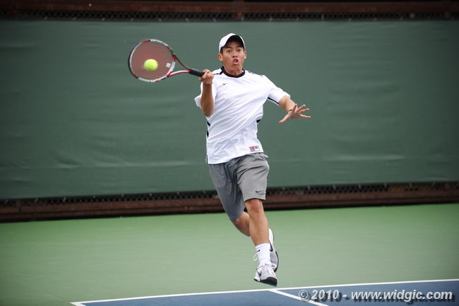 Men's Tennis Senior Tom Pham Named to WCC First-Team All-Academic Team For Second Straight Year