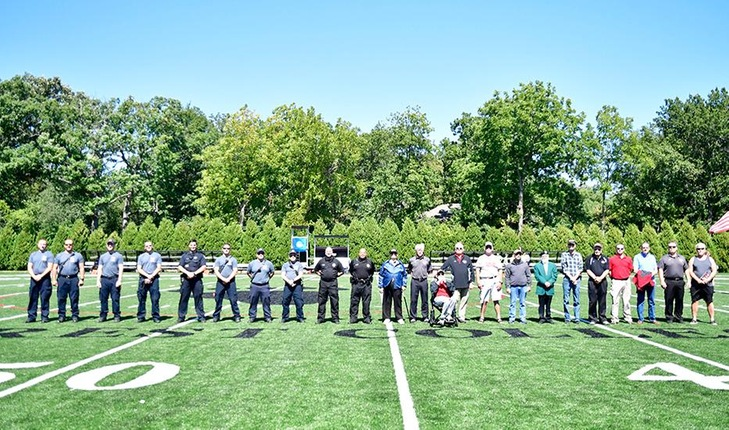 Forester Football Celebrates Eighth Annual Heroes Day