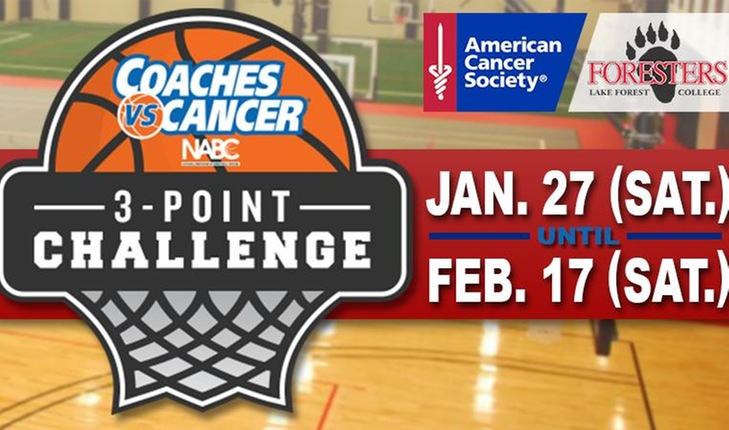 Join the Forester Fight in the Coaches vs. Cancer 3-Point Challenge