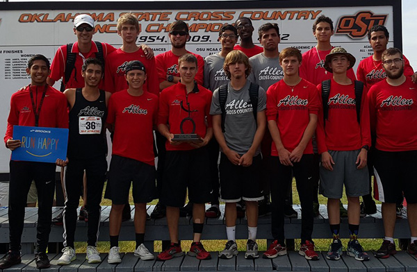 Men's Cross Country at Oklahoma State Cowboy Jamboree