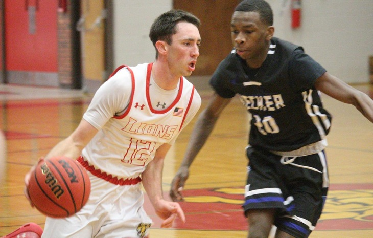 #3 Seed Men's Hoops Outlasts Sixth-Seed Becker 74-70 in Overtime in NECC Tournament First Round