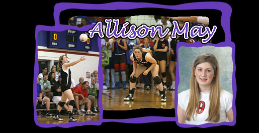 Golden Eagle volleyball signs Allison May