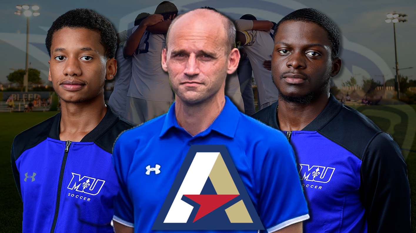 Men's soccer earns Atlantic East Coaching Staff of the Year, land three on all-conference teams