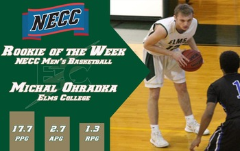 Ohradka Claims NECC Rookie of the Week honor