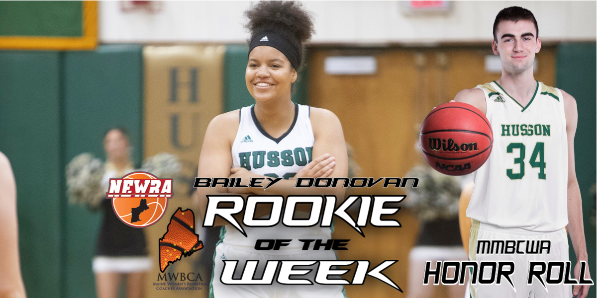 First-Year Husson Basketball Players Continue to Sweep in Weekly Accolades