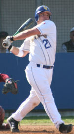 Cal Baseball Tops UC Santa Barbara, 2-0, In Rain-Shortened Game