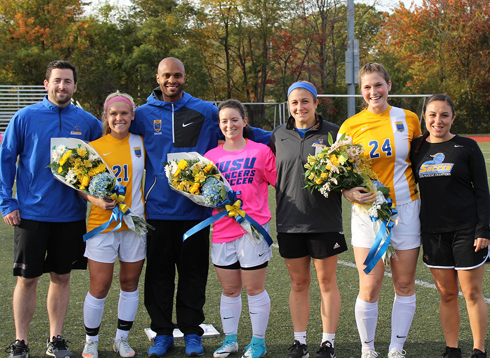 Lancers Shutout Buccs on Senior Day; Women's Soccer Earns Share of MASCAC Regular Season Championship