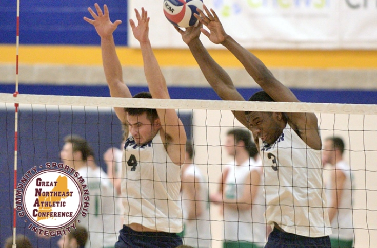 Men's Volleyball: Bucklin, Graham named GNAC Players of the Week