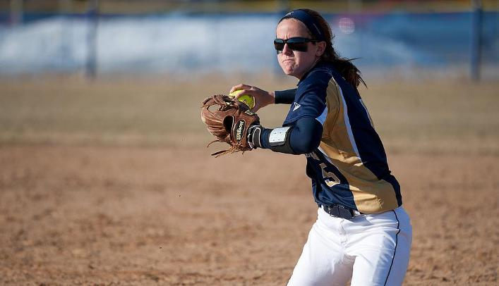 Softball Survives Wild Second Game with Falcons to Pick up Sweep
