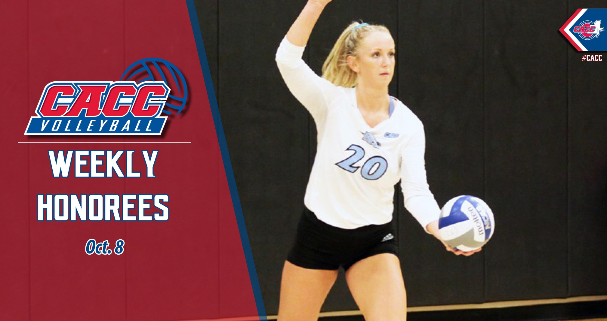 CACC Volleyball Weekly Honorees (Oct. 8)