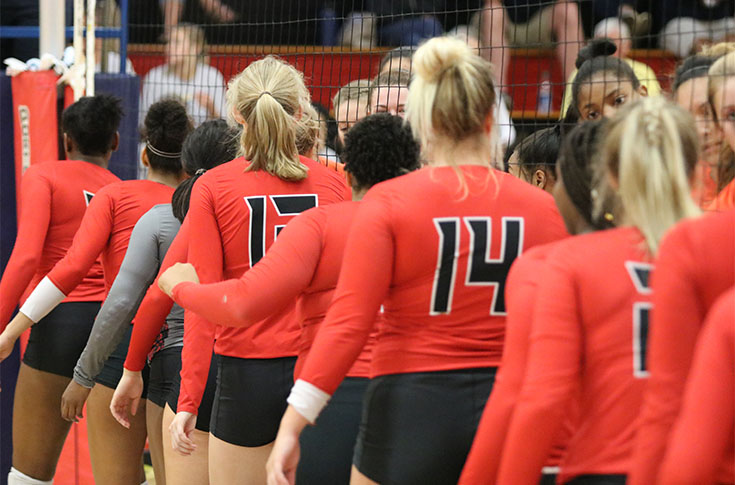 Volleyball: Short-handed Panthers split USA South matches with Brevard and Piedmont