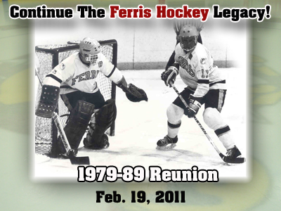 Continue The Ferris Hockey Legacy! Reunion Set For Feb. 19