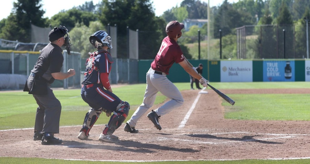 MacNichols Homers Twice But Baseball Falls to Saint Mary's