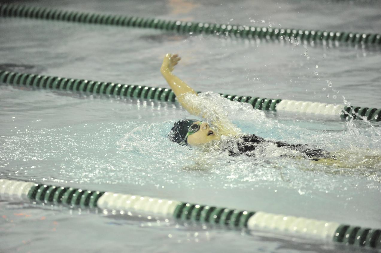 Men And Women's Swimming Compete At Mount Saint Mary College Invitational