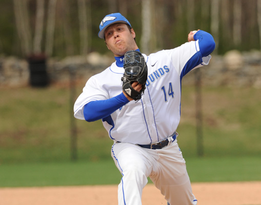 Perry Pitches Hounds Past Saint Anselm