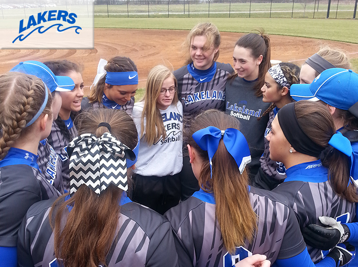 Lakers softball sweeps Univ. of Northwestern Ohio (JV)