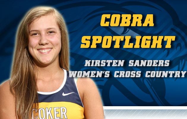 Cobra Spotlight- Kirsten Sanders, Women's Cross Country