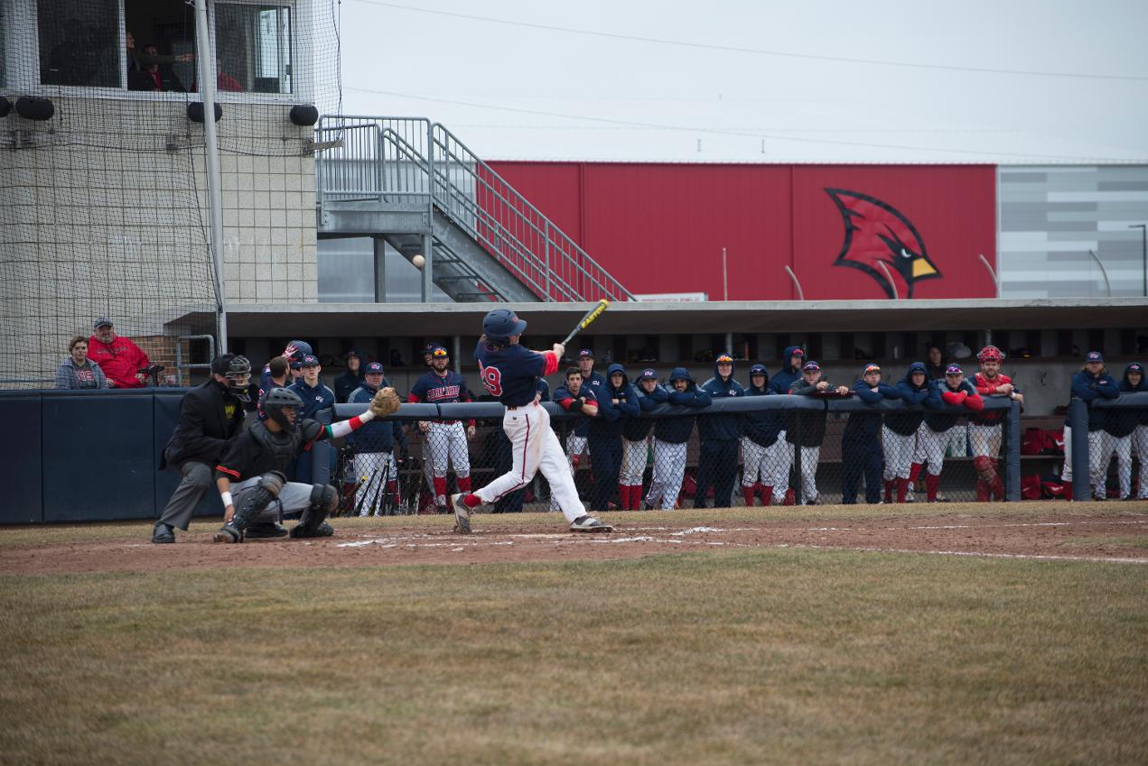 Baseball Vs Findlay April 4 2015 Saginaw Valley State