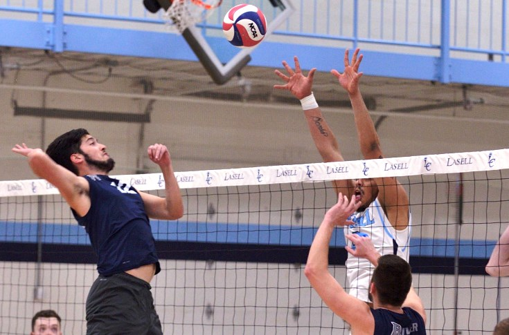 Men's Volleyball: Raiders blank Lasell College, 3-0