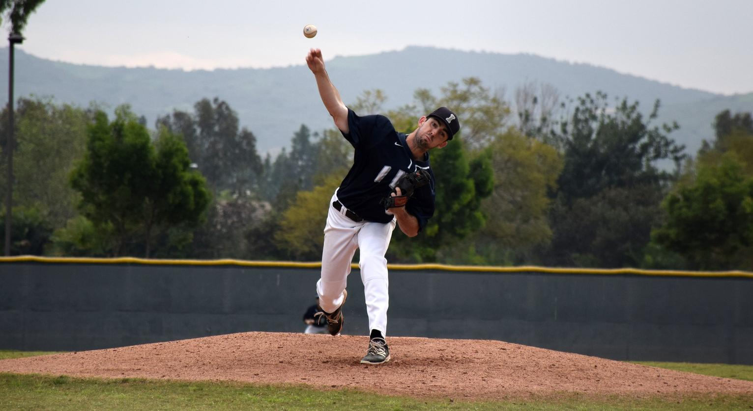 Reynolds dominant as baseball team wins fourth in a row
