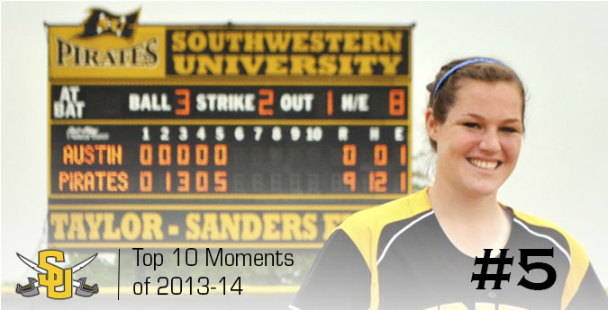 No. 5: Gibbs tosses first and second no-hitter in program history