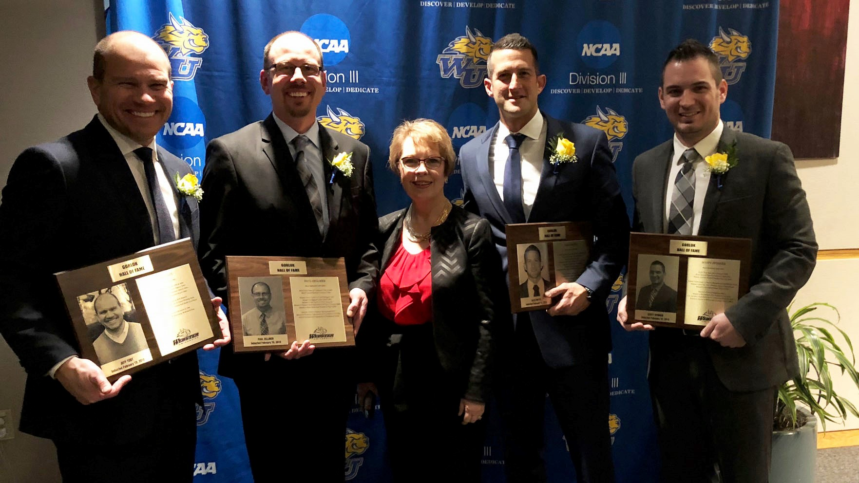 Webster Adds Five To Hall of Fame