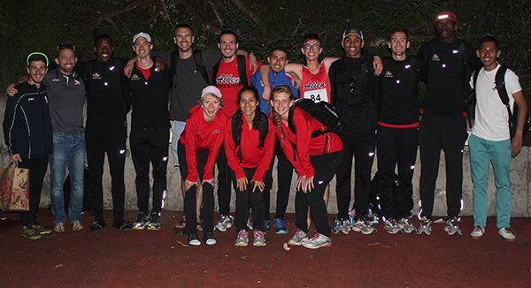 Red Devils Enjoy Successful Friday at San Francisco Distance Carnival
