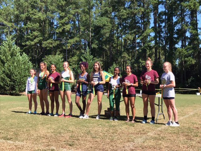 Women's Cross Country Places 2nd at Methodist