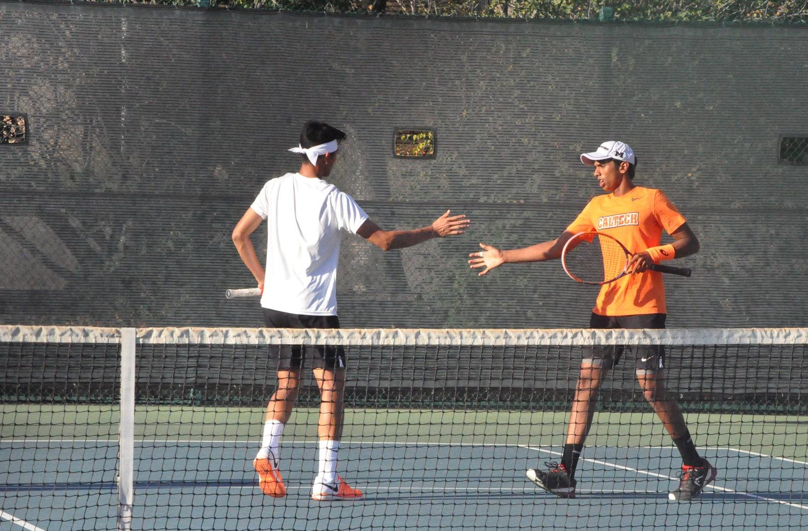 Freshmen Shanker and Wei Earn Program's First-Ever Doubles Win at ITA Regionals
