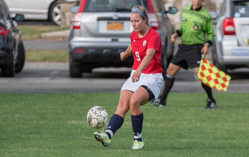 Women's Soccer Upended by St. Anselm