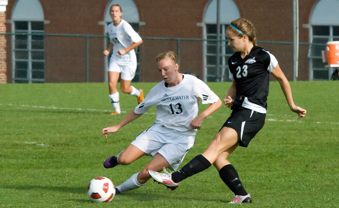Johnson Extends Shutout Streak to 222 Minutes, Mustangs Down Pride, 2-0