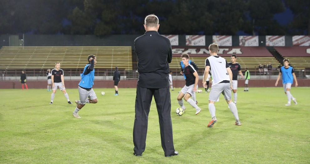 Season Wraps Up for Men's Soccer Friday at San Diego