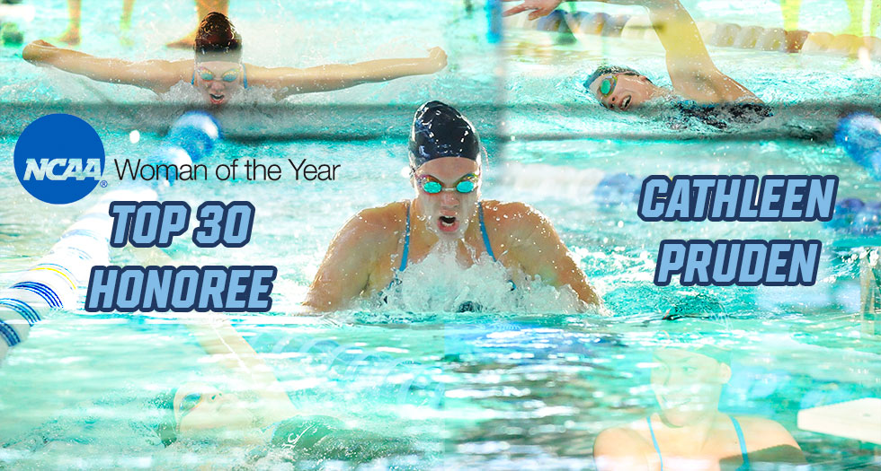 Pruden Named a Top 30 Honoree for 2016 NCAA Woman of the Year Award